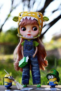 A Blythe & Her Minions