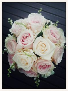 Meijer Roses - Varieties of Avalanche & Lily of the valley ~ Beautiful!!