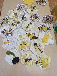 DIY with Kids Bienen basteln DIY mit Kindern Bathroom Showers - Your Options Explained If you are th Preschool Garden, Preschool Crafts, Kids Crafts, Diy With Kids, Art For Kids, Bee Activities, Bee Art, Kindergarten Art, Art Classroom