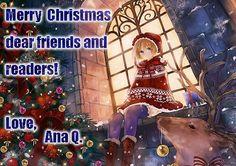 craciun fericit! Merry Christmas, Christmas Ornaments, Dear Friend, Anime Art, Seasons, Holiday Decor, Painting, Autumn, Merry Little Christmas