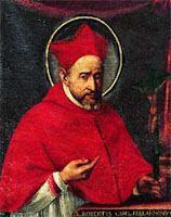 Today with the Saints September 17: St. Robert Bellarmine •Activity: Make a cardinal's zucchetto.