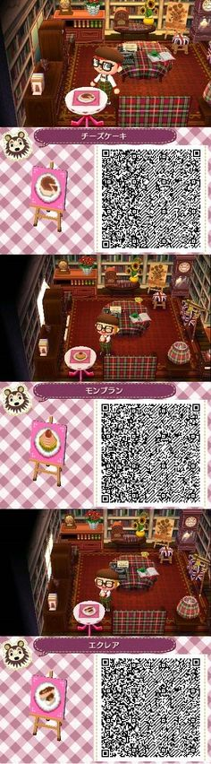 ACNL QR Code: Pastry Designs 3 of 3