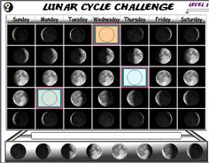 Enjoy this great game on moon phases, videos about the moon and even a moon freebie!