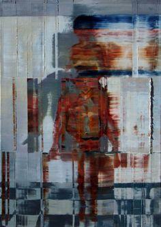 Nu com mulher sobre os ombros.Óleo sobre tela. Taigo Meireles. 92cmx 65cm.2011