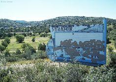 The old Senator Drive-In sign in Prescott AZ