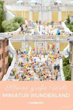 Das Miniatur Wunderland in Hamburg - eine kleine große Welt ist ein Ausflugsziel für kleine und große Kinder. Wir nehmen Euch mit und erzählen Euch von Zauber der Modellwelt