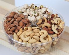 Deluxe Nut Gift Tray - Gift Basket - Hula Delights - http://mygourmetgifts.com/deluxe-nut-gift-tray-gift-basket-hula-delights/
