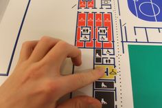 With tactile design you can feel the hight difference witch gives you an understandig of the buildings layout. jcgt.se