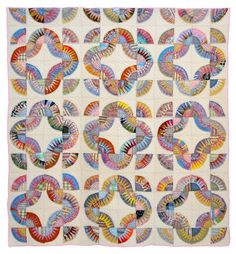 New York Beauty quilt, c. 1970 | Bill Volckening collection