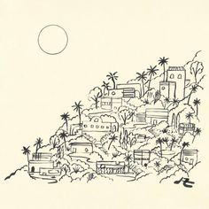 Original artwork for the Silver Lake print run with / also working on a new print for the holidays. Silver Lake, Art Sketchbook, Cool Drawings, Diy Art, Art Inspo, Art Reference, Watercolor Art, Original Artwork, Art Photography
