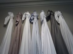 The colourways of our first bed linen collection- shown in 2011