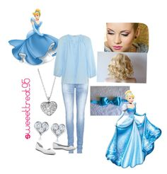 Cinderella modern outfits. by sweeettreat95 on Polyvore featuring polyvore fashion style Tucker True Religion Tiffany & Co. FOSSIL Uncle Milton McQ by Alexander McQueen modern clothing