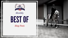 Montly Round-Up: What You Should Not Have Missed On Dressage Hafl in April 2016  Don't you hate it when you do not have enough time to read all the interesting things on the internet? And once you have time you will never find those interesting articles again. You are not alone - that is why I decided to round up the best blog post of each month for you. You're welcome!  April was all about tall boots stretching your horse why you should embrace failure and the one thing that you need to do…