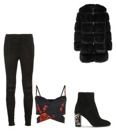 """Incomplete"" by annie-lastihenos on Polyvore featuring Yves Saint Laurent and Givenchy"