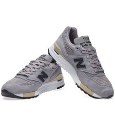 New Balance M998DTK - Made in the USA (Grey)