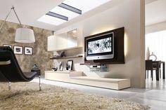 Parete Attrezzata Porta TV per Soggiorno 530 - Napol.it