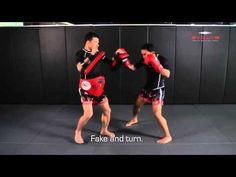 POWERFUL Muay Thai KO combination!   Evolve University - YouTube