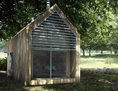 Tiny Shed-style home @shedworking.co.uk