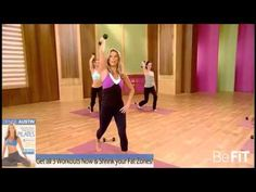 Denise Austin: Shrink Your Fat Zones Pilates- Full Workout - YouTube