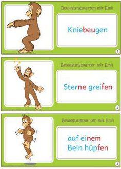Nun gibt es auch kleine Bewegungskarten für die Hand der Kinder. Hier die Version in Silbenschrift. Ohne Silbentrennung stelle ich die Karten auch noch online: