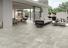 Want to bring a fresh new look into your home? Look no further than these stylish Smoked Embers Tiles. They have an atmospheric blended design, with a mid-grey tone, and are part of our collection of Foundry Concrete Effect Tiles. Style Tile, Exterior Tiles, Garden Tiles, Interior Tiles, Concrete Tile Floor, Home Decor, Doors And Floors, Flooring, Long House