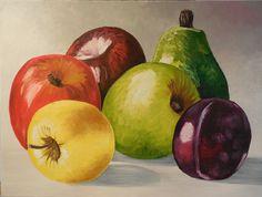 Gema Silva óleo bodegón impresionista 80 x 60 (aprox) (no recuerdo si es original o réplica)