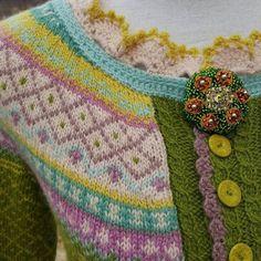 Fair Isle Knitting, Lace Knitting, Knitting Ideas, Color Schemes, Blanket, Crochet, Pattern, Breien, R Color Palette