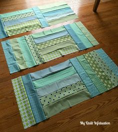 Fort Worth Fabric Studio: Oh Sew Baby: Strip Tango Baby Quilt Tutorial  The finished quilt measures 48 x 60 inches.  A perfect size for a baby, but still big enough to be useful for years!