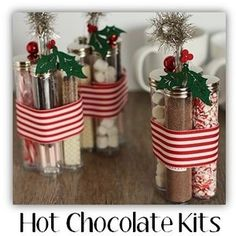 Pinterest Christmas Gifts | from pinterest com homemade christmas gift idea hot chocolate kits ...