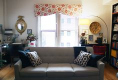 They have his and hers desks. : Lauren & Kevin's House Tour : Apartment Therapy