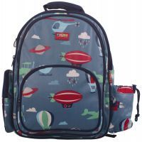Penny Scallan Space Monkey Large Backpack www.mamadoo.com.au #mamadoo #bags #kidsbackpacks