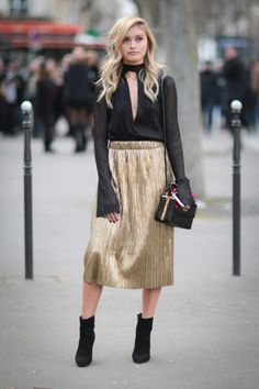 35 Street-Style-Approved Ways to Wear Chokers | StyleCaster
