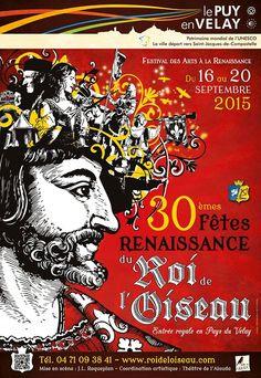 Fêtes renaissance du roi de l'oiseau - du 16 au 20 septembre 2015 - Le Puy-en-Velay