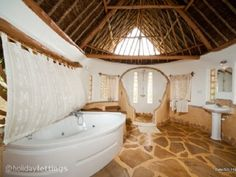 Swahili Villa, Tiwi, Kenyan Coast, Kenya #Africa #Kenya #jacuzzi #golf