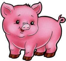 pig lots of clip art on this site paper anime kiawaii rh pinterest com clip art of pigs and cows clip art of piggy bank