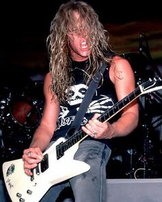 James Hetfield he's just about as hot as they come in my book.