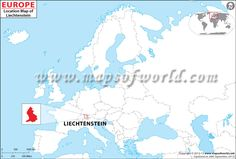 Liechtenstein Location Map