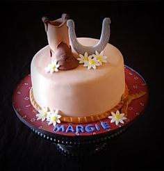 Cowgirl cake so simple I love it