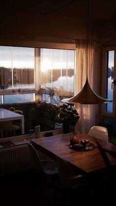 Hett inrett: Tidiga solnedgångar #Gubi #Semi #Sweden #Scandinavian design