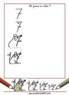 Cifra 7-  desen cu soricei