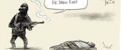 Attentato Charlie Hebdo, i vignettisti di tutto il mondo disegnano per manifestare solidarietà e dolore (TWEET)