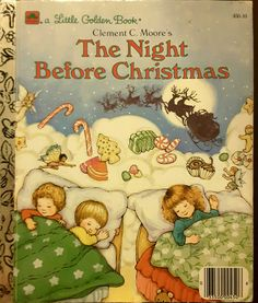 a Little Golden Book - The Night Before Christmas