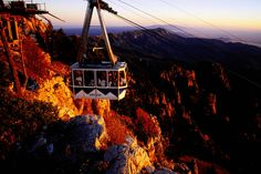 Aerial tramway at Sandia Peak - Albuquerque New Mexico