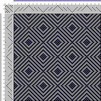 Weaving Draft Page 149, Figure 14, Donat, Franz Large Book of Textile Patterns, Germany, 1895, #27499