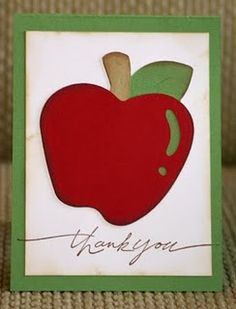 Teacher 'Thank you' card