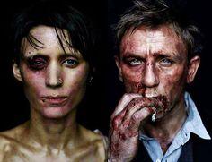 """Pseudo Cinéfilos - Facebook """"Millennium: Os Homens que Não Amavam as Mulheres (The Girl with the Dragon Tattoo, 2011). Dir.: David Fincher."""""""