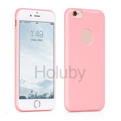 HOCO Sugar Series Breghten TPU Back Case for iPhone 6 Plus/ 6S Plus - Pink