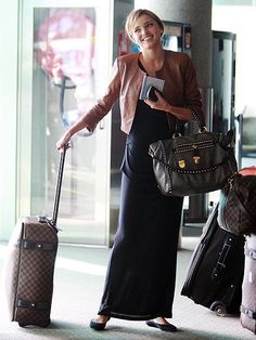 Classic travel chic.