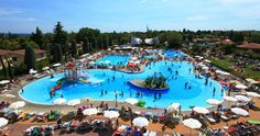 4. Camping Bella Italia, close to Lake Garda, has an awesome pool complex with a huge lagoon-style pool, water slides and a water adventure park for kids. http://www.canvasholidays.co.uk/italy/lake-garda/ga03n/camping-bella-italia