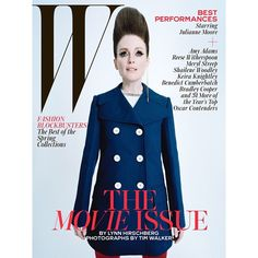 """@cleverdeen's photo: """"NEW picture of Julianne Moore (President Coin) on the cover of W Magazine! (HQ) •